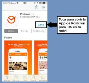 Postcron para iOS Instalar