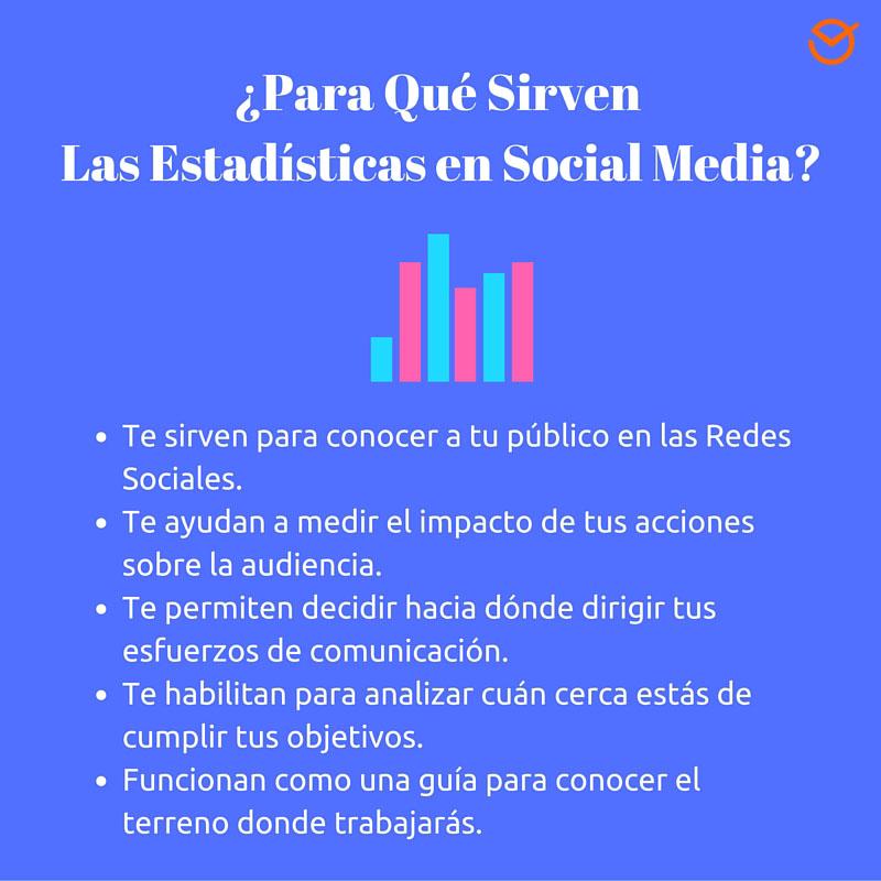 Para Qué Sirven los Datos y Estadísticas de Redes Sociales