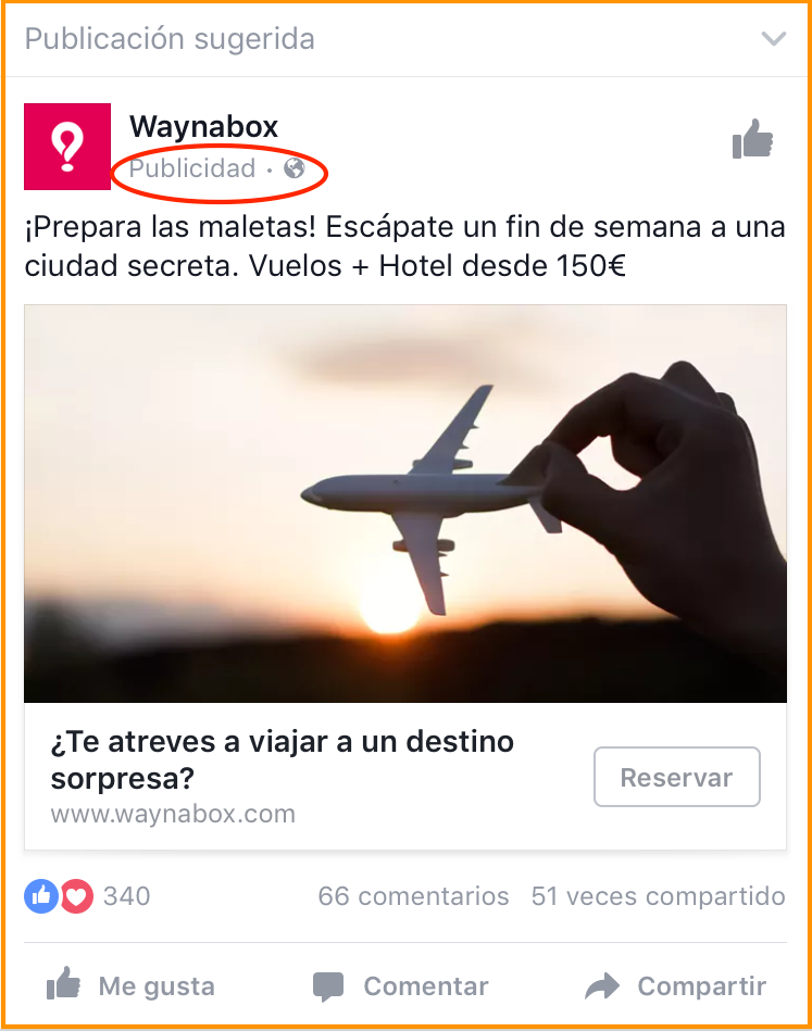 Mobile Advertising example