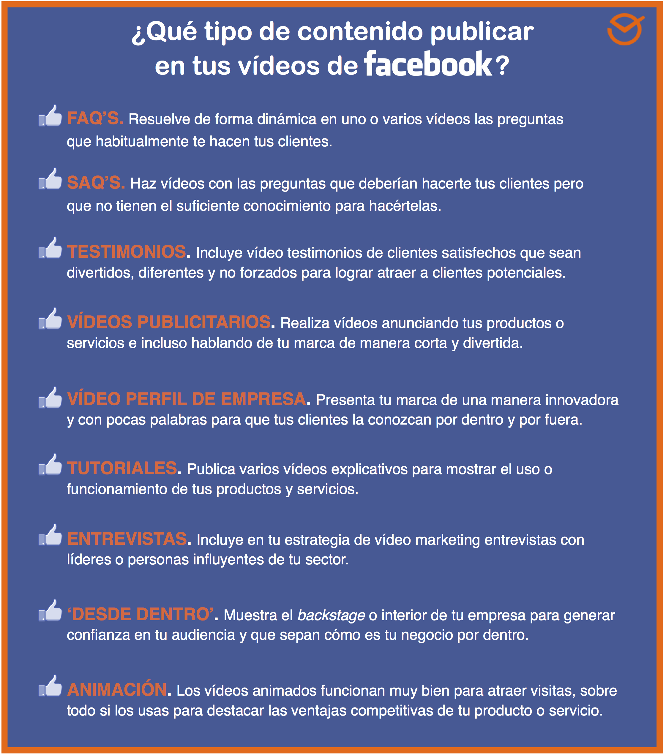 Los 7 Mejores Consejos para Publicar Vídeos en Facebook 39eea31c6c5
