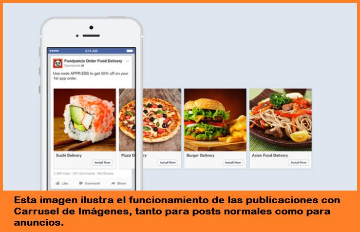 Cómo impulsar tu negocio con el Carrusel de Imágenes de Facebook