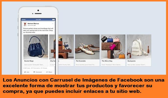 Aprovecha al máximo el Carrusel de Imágenes de Facebook