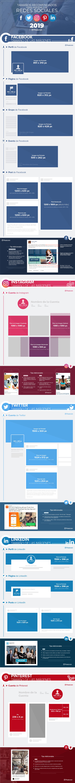 Dimensiones de imágenes para Redes Sociales Infografía