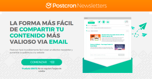 email sender postcron - email marketing