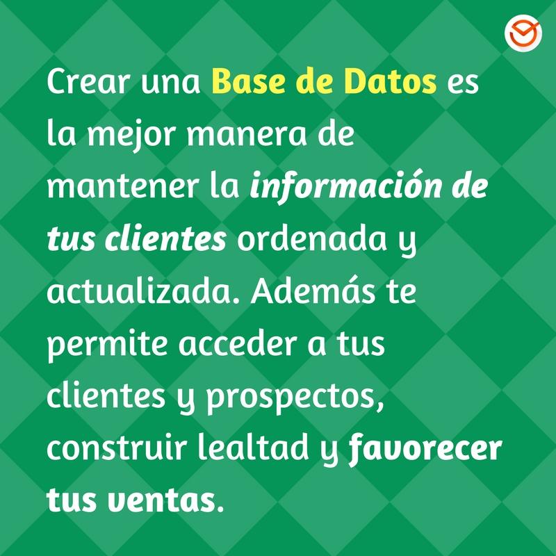 Cómo crear una base de datos de clientes