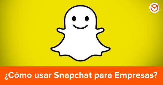 Cómo Utilizar Snapchat Para Empresas Información Y Consejos