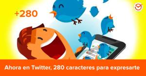 Lo nuevo de Twitter: 280 caracteres para hacer Marketing Online