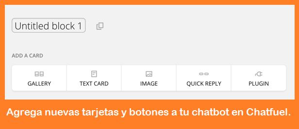 Chatbot en Facebook para comercios