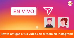 Cómo invitar a un amigo a tus vídeos en directo en Instagram