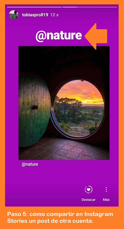 Aprende cómo compartir en Instagram Stories un post de otra cuenta