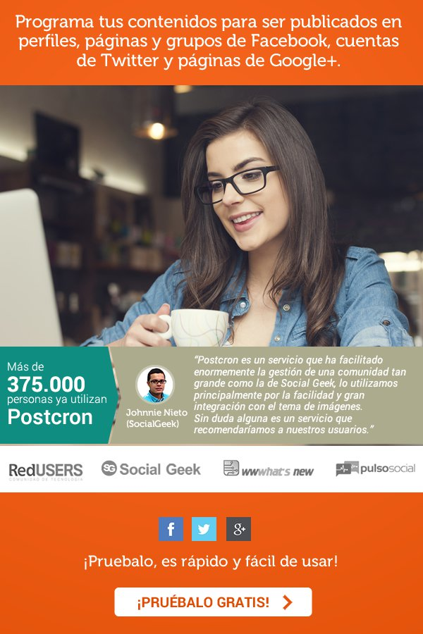 Programa tu contenido en redes sociales