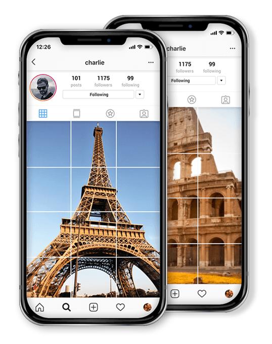 Resize, convert, split, crop your images online - ImageSplitter