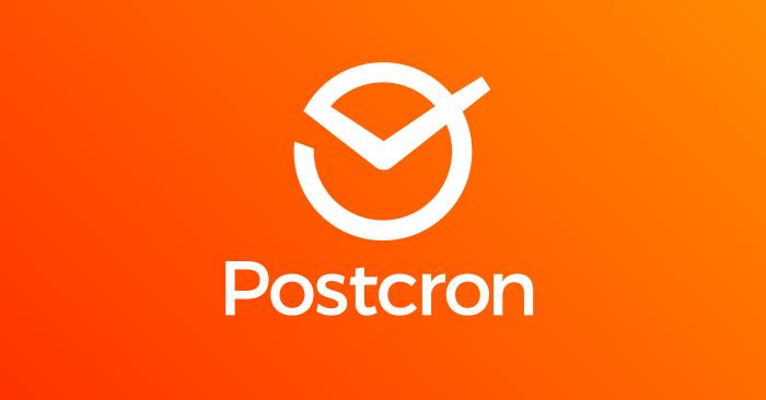 """Résultat de recherche d'images pour """"Postcron"""""""