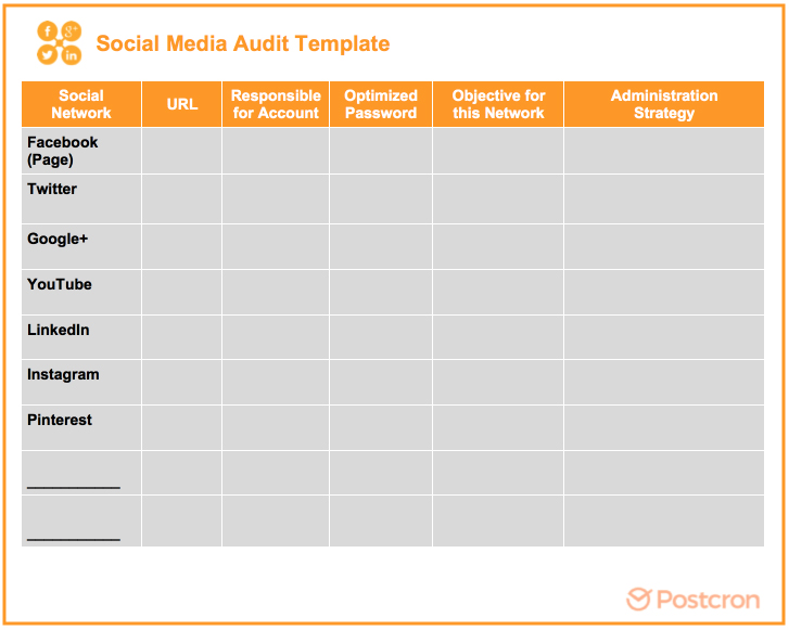 Social-Media-Audit-spreadsheet
