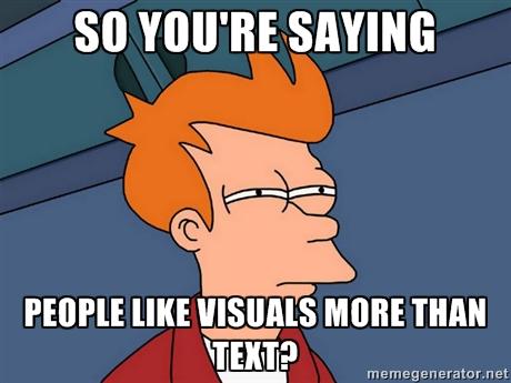 Visual content - meme