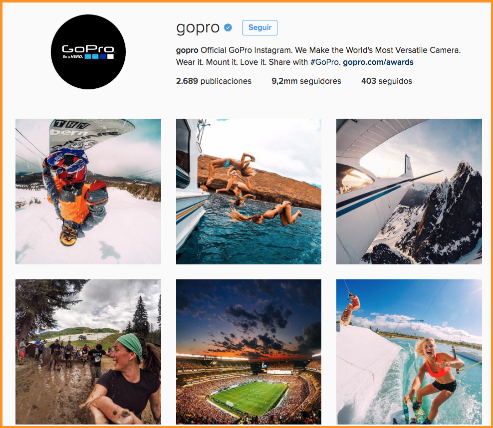 GoPro Visual content by Postcron