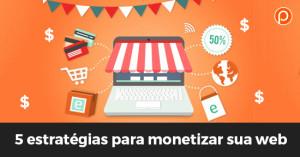monetizar sua web