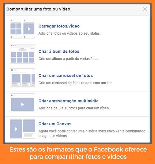 ideias de Posts no Facebook