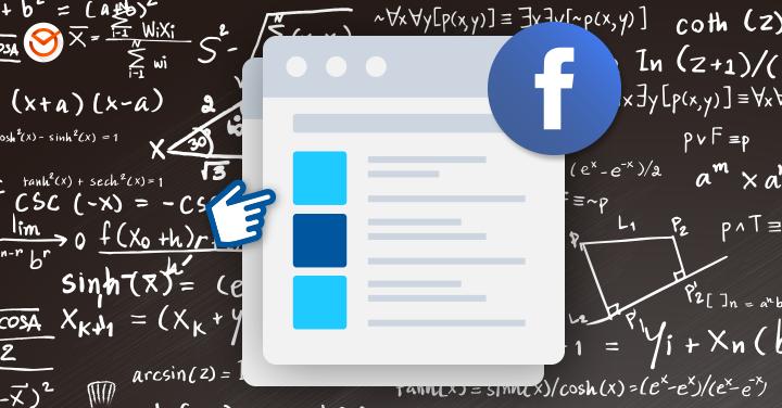 mudanças no algoritmo do Facebook