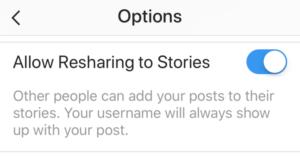 compartilhar posts