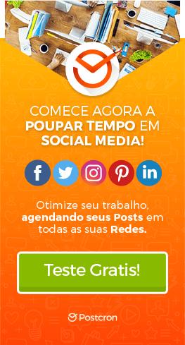 COMECE AGORA A POUPAR TEMPO EM SOCIAL MEDIA!